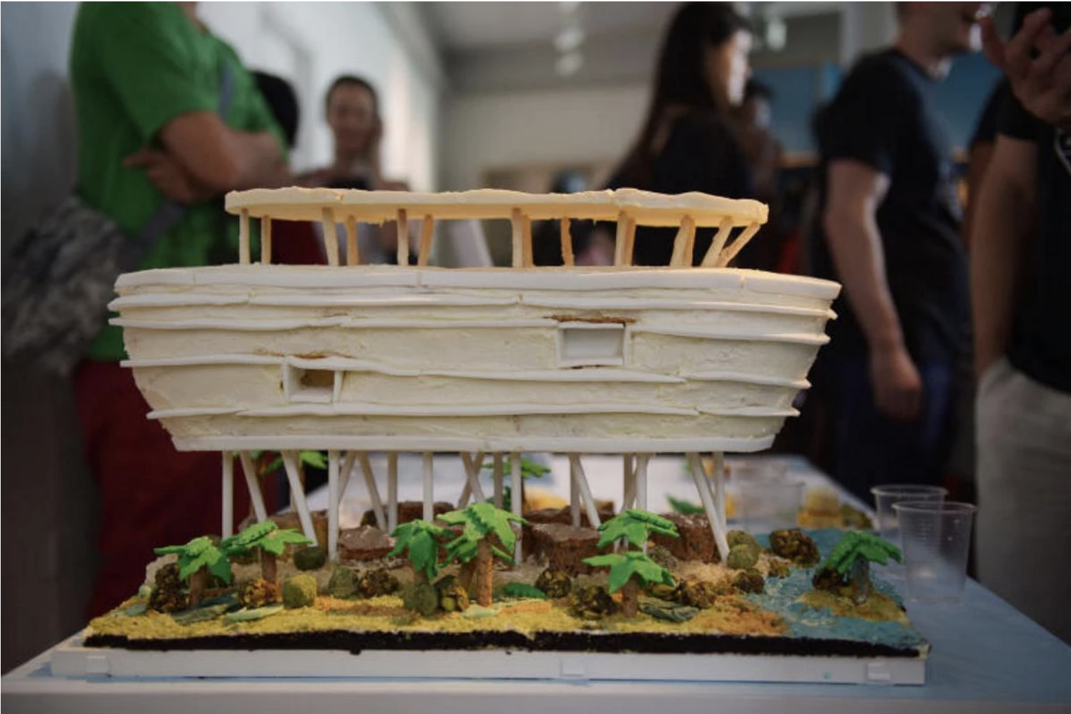 Photo courtesy: WATG's Great Architectural Bake-Off