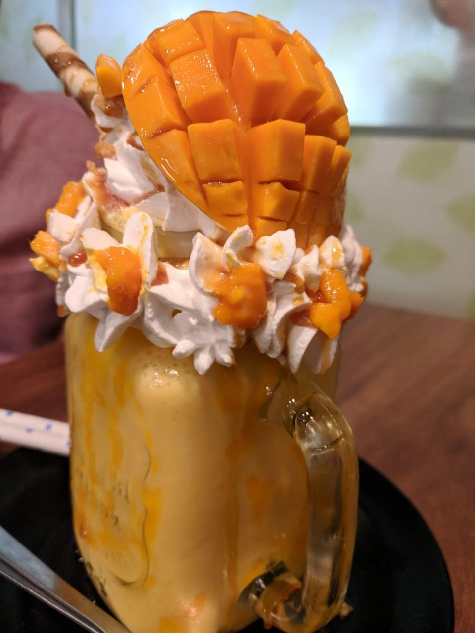 Mango Shake. Photo: Connected to India