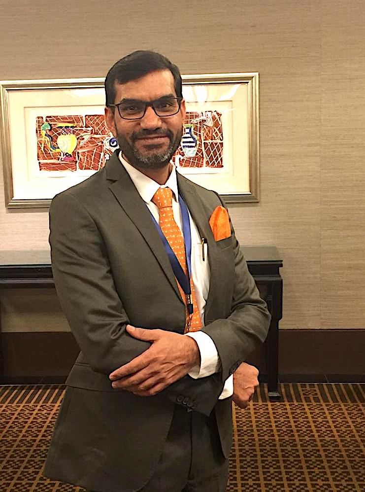 Rajkumar Beniwal, Managing Director of iDEXTb is gung-ho about the prospects of a very successful Vibrant Gujarat 2019 Photo: Connected to India