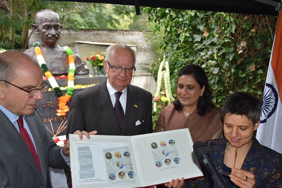 Photo courtesy: Indian  Embassy, Brussels