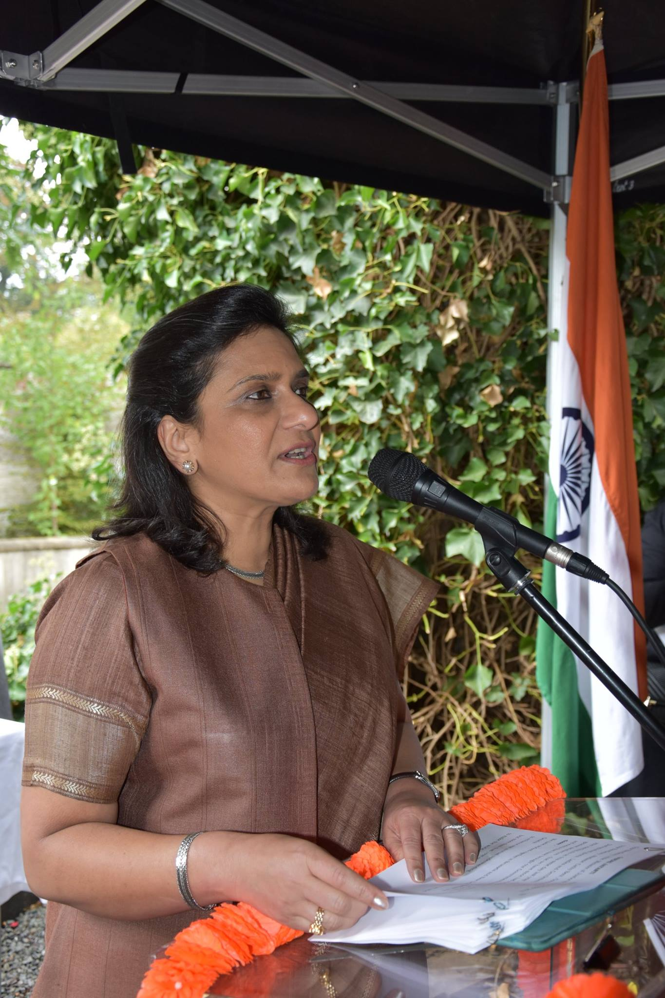 HE Gaitri Issar Kumar, Ambassador of India, Brussels