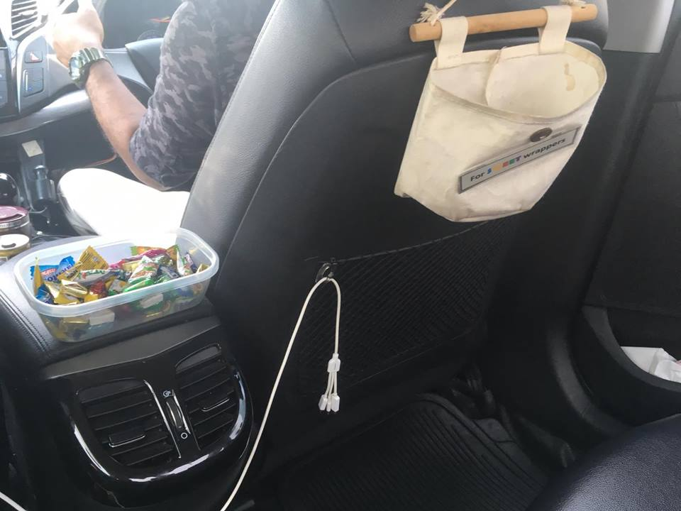 Chauffeur Abdul offers candies, free Wi-Fi and a charging cable for various i-Phones and Android mobile phones to the passengers riding in his ComfortDelGro Taxi. Photo courtesy: Facebook page of ComfortDelGro