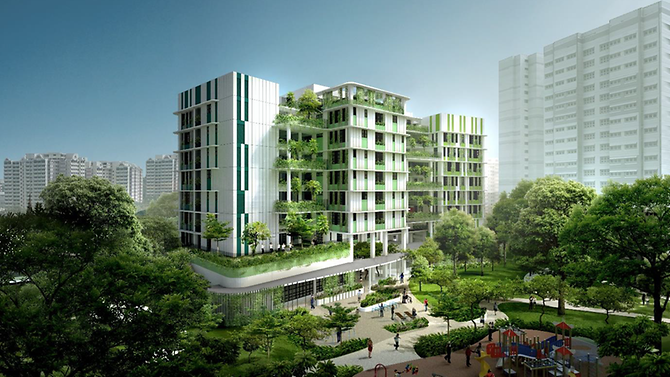 An artist impression about the Bukit Batok Care Home. Photo courtesy: moh.gov.sg