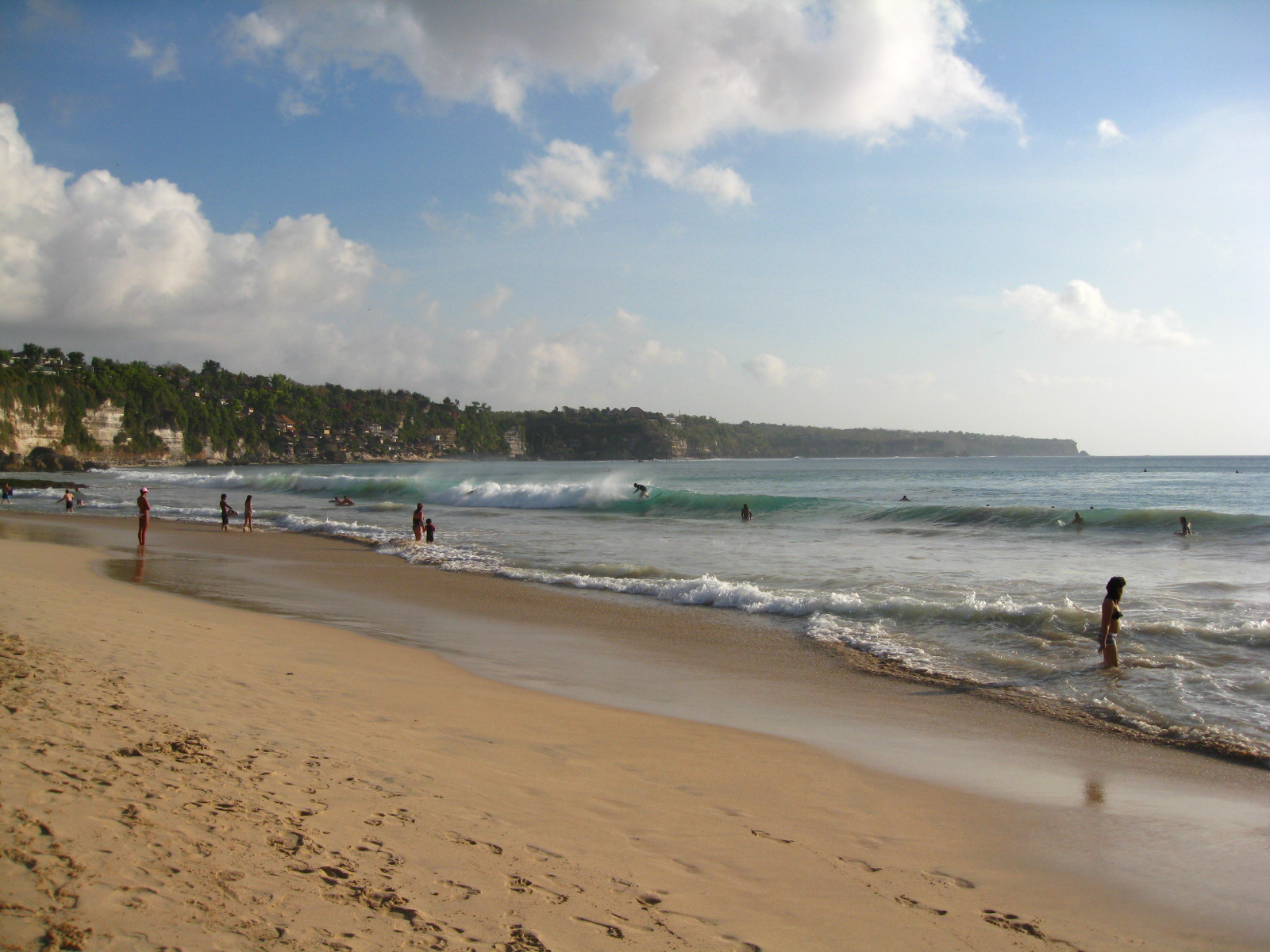 The attractive beaches of Bali are favourite destination for Indian tourists. Photo courtesy: Wikimedia