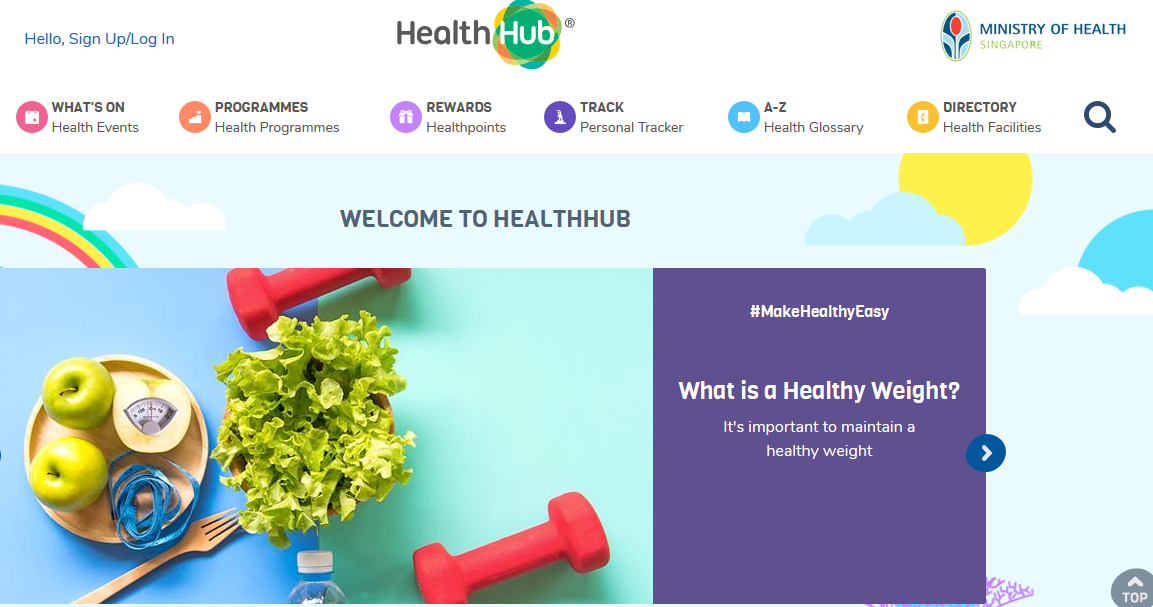 Multiple unauthorised log-in attempts were detected on the Health Promotion Board's (HPB) HealthHub portal over four days. Photo courtesy: HealthHub