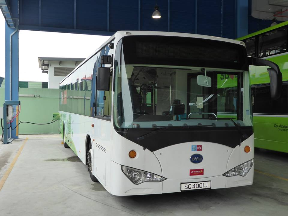 Commuters can expect quieter and smoother rides with the introduction of electric buses. Photo courtesy: LTA