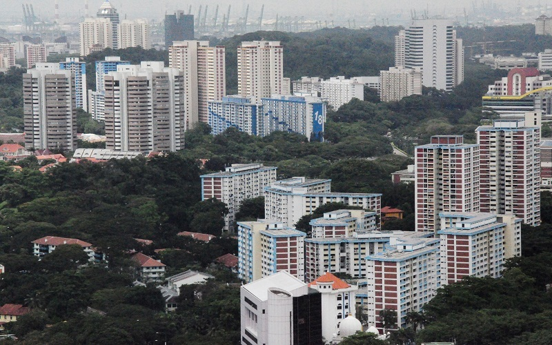 There has been a consistent decline in the resale prices of HDB flats over the last year. Photo courtesy: gov.sg