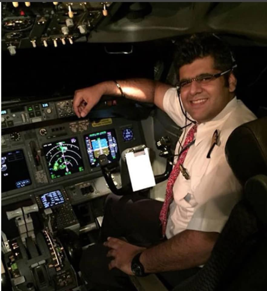 Bhavye Suneja was the Captain of the ill-fated Lion Air flight JT610 which crashed today off the coast of Indonesia. Photo courtesy: Facebook page of Bhavye Suneja