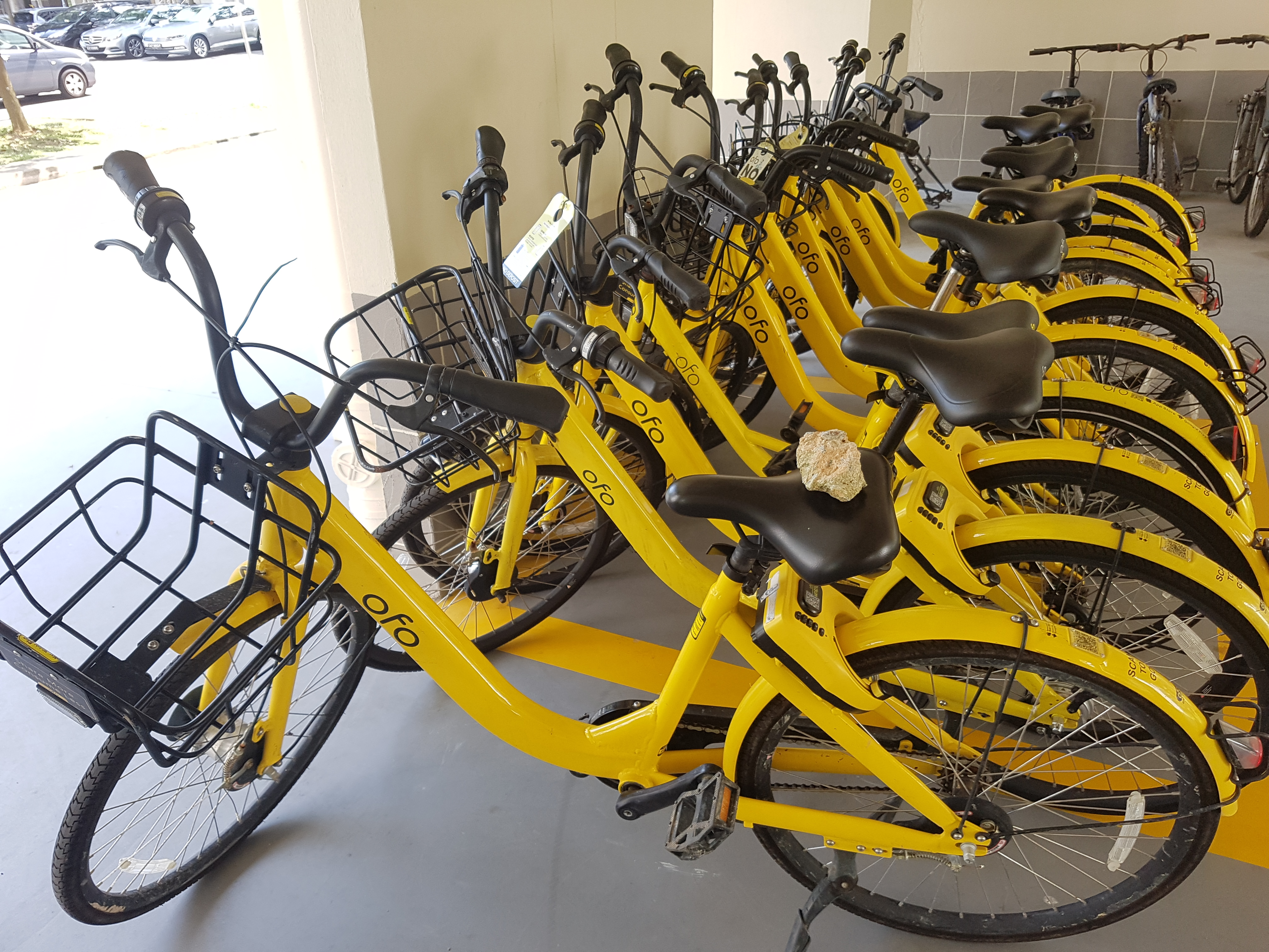 LTA has granted ofo a maximum fleet size of 25,000 bicycles in Singapore. Photo courtesy: Wikimedia