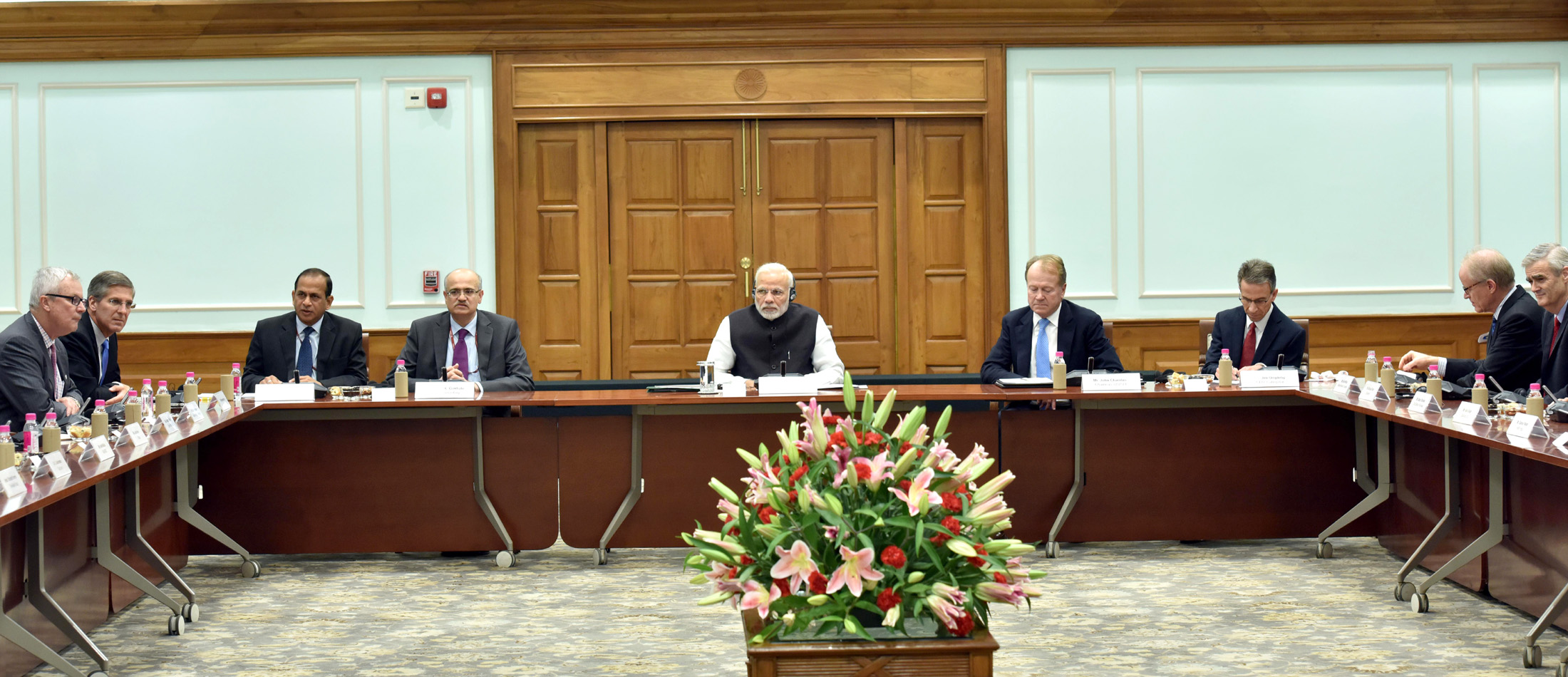 PM Modi addressed the board members of United States India Strategic Partnership Forum (USISPF)