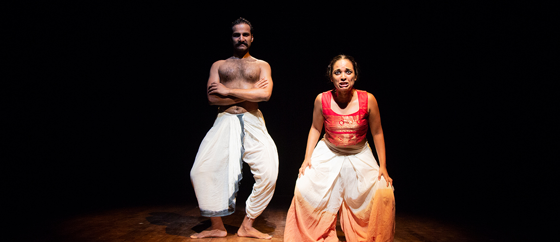 Adishakti's Bali is a retelling of the various events that led up to the battle between Bali, the ruler of Kishkindha and Ram, the King of Ayodhya. Photo courtesy: Esplanade Theatres on the Bay