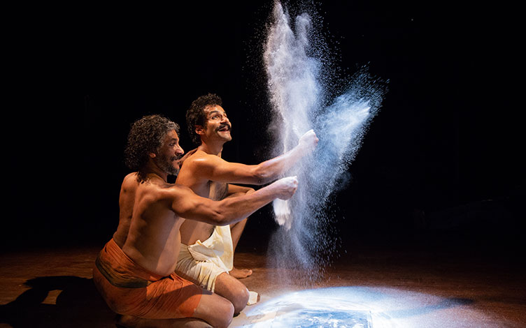 Ramayana is a universal story because it has everything that one deals within one's lifetime – personal struggle, political power struggle, economic power struggle and even notions of justice. Photo courtesy: Esplanade Theatres on the Bay