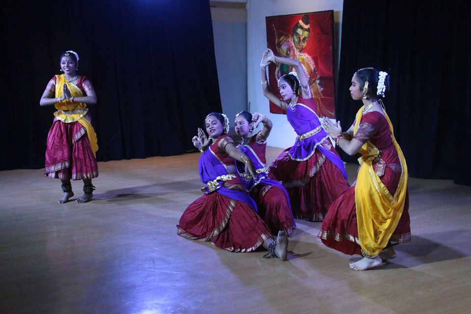 Temple of Fine Arts team performing for Deepakalanjali 2018. Harish R Menon, the Arts Administrator at the Temple of Fine Arts, says that Kalaa Utsavam has become the performance outlet for anything and everything Indian.