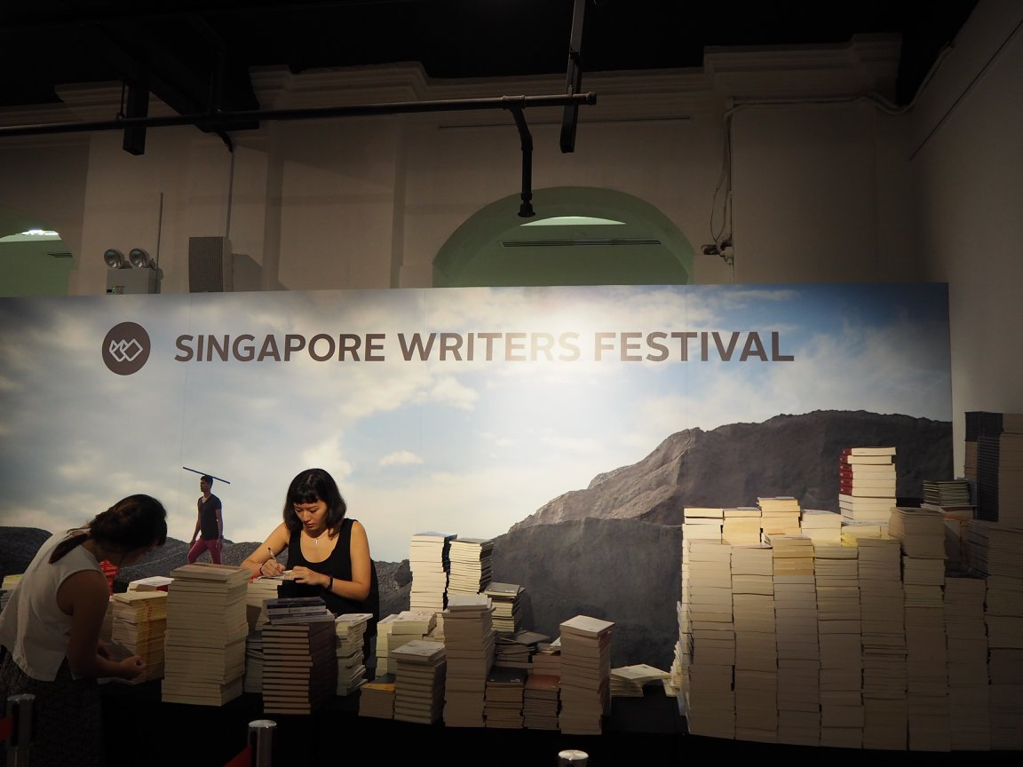 Photo courtesy: Singapore Writers Festival