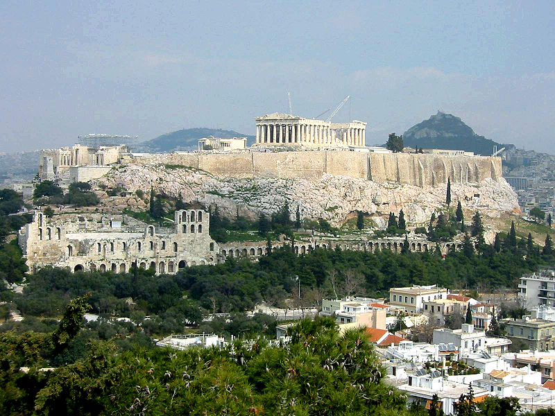 Athens is a very beautiful city alluring tourists from different parts of the world. Photo courtesy: Wikimedia
