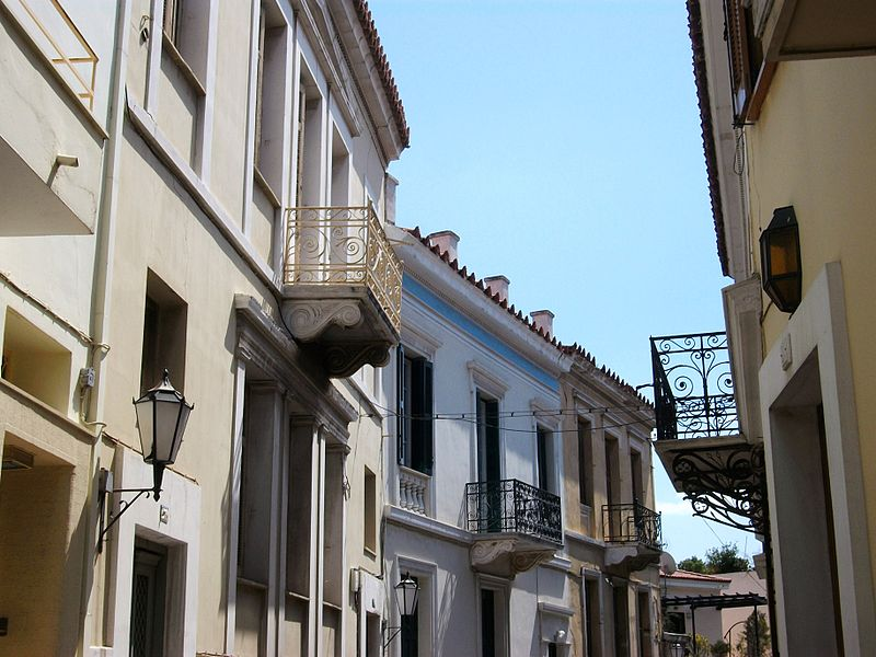 Plaka is the oldest historic district of Athens. Photo courtesy: Wikimedia