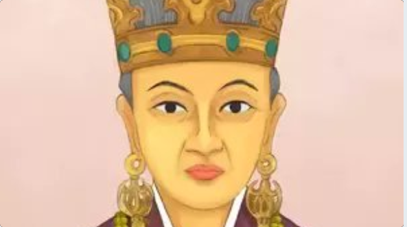 The young Indian princess Suriratna from Ayodhya, later to be known as Heo Hwang-ok, went to Korea in 48 AD, some 2,000 years ago, and married the king to become  the first queen of the Karak dynasty. Photo courtesy: Twitter