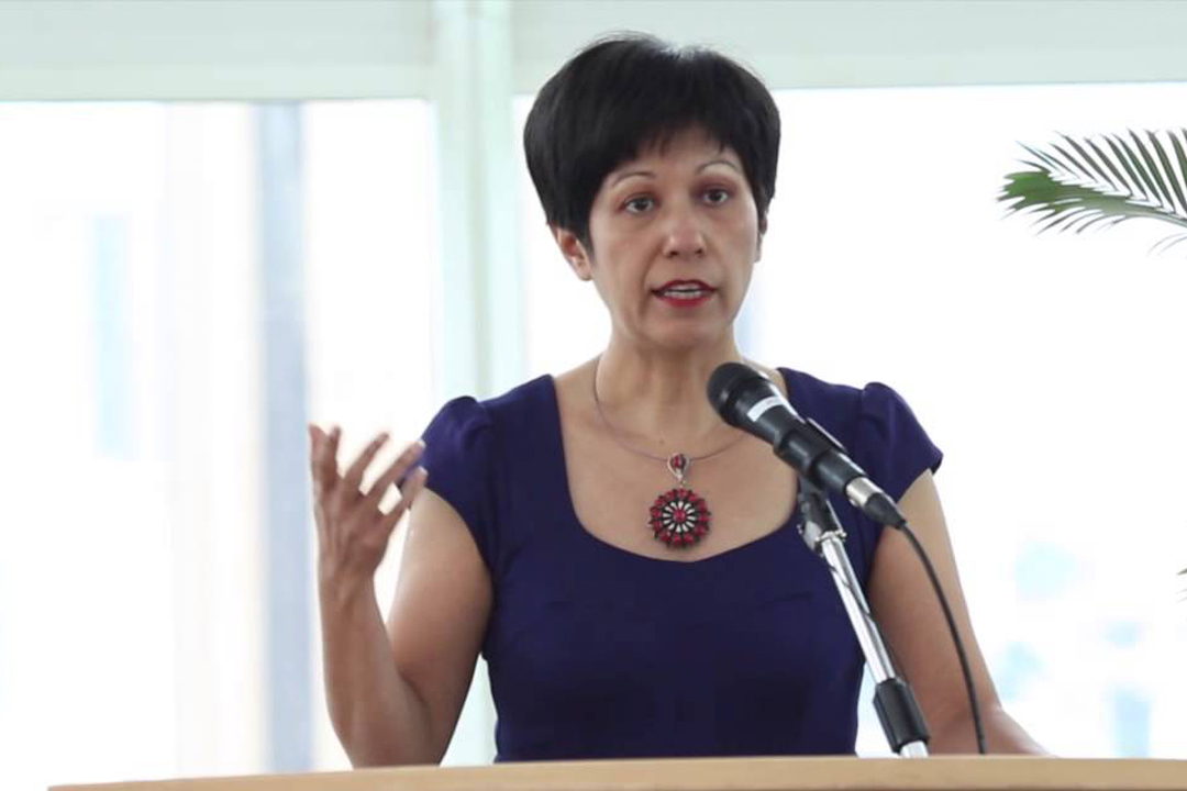 Indranee Rajah, Second Minister for Education of Singapore. Photo courtesy: pap.org