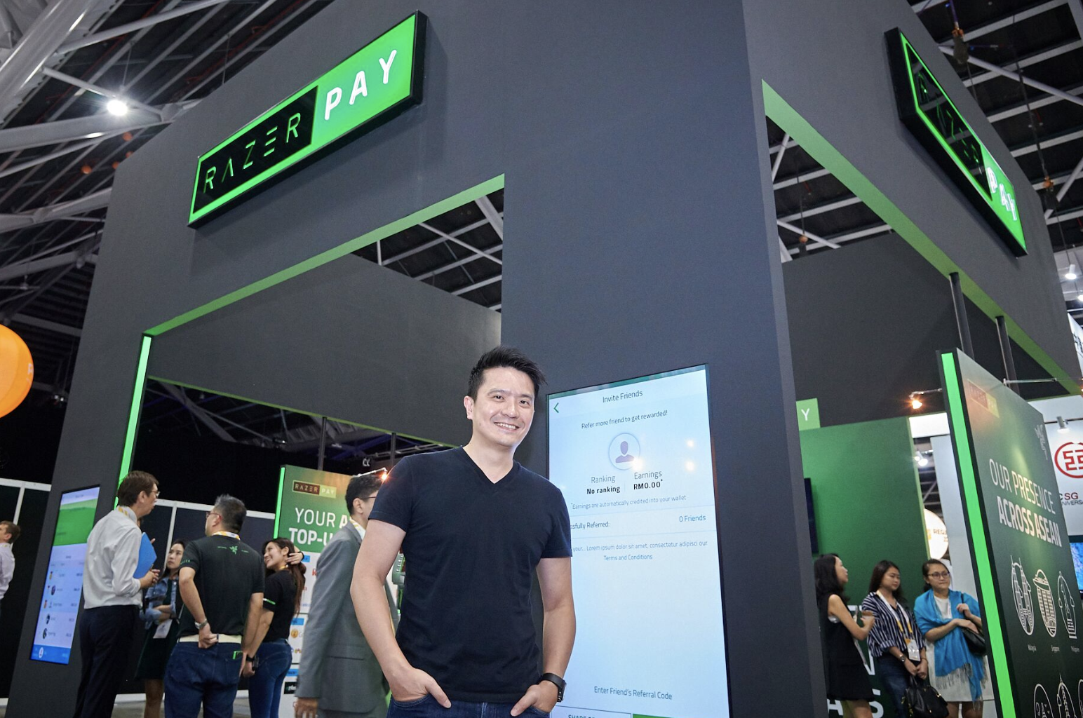 Min-Liang Tan, co-founder and CEO, Razer. Photo courtesy: Razer