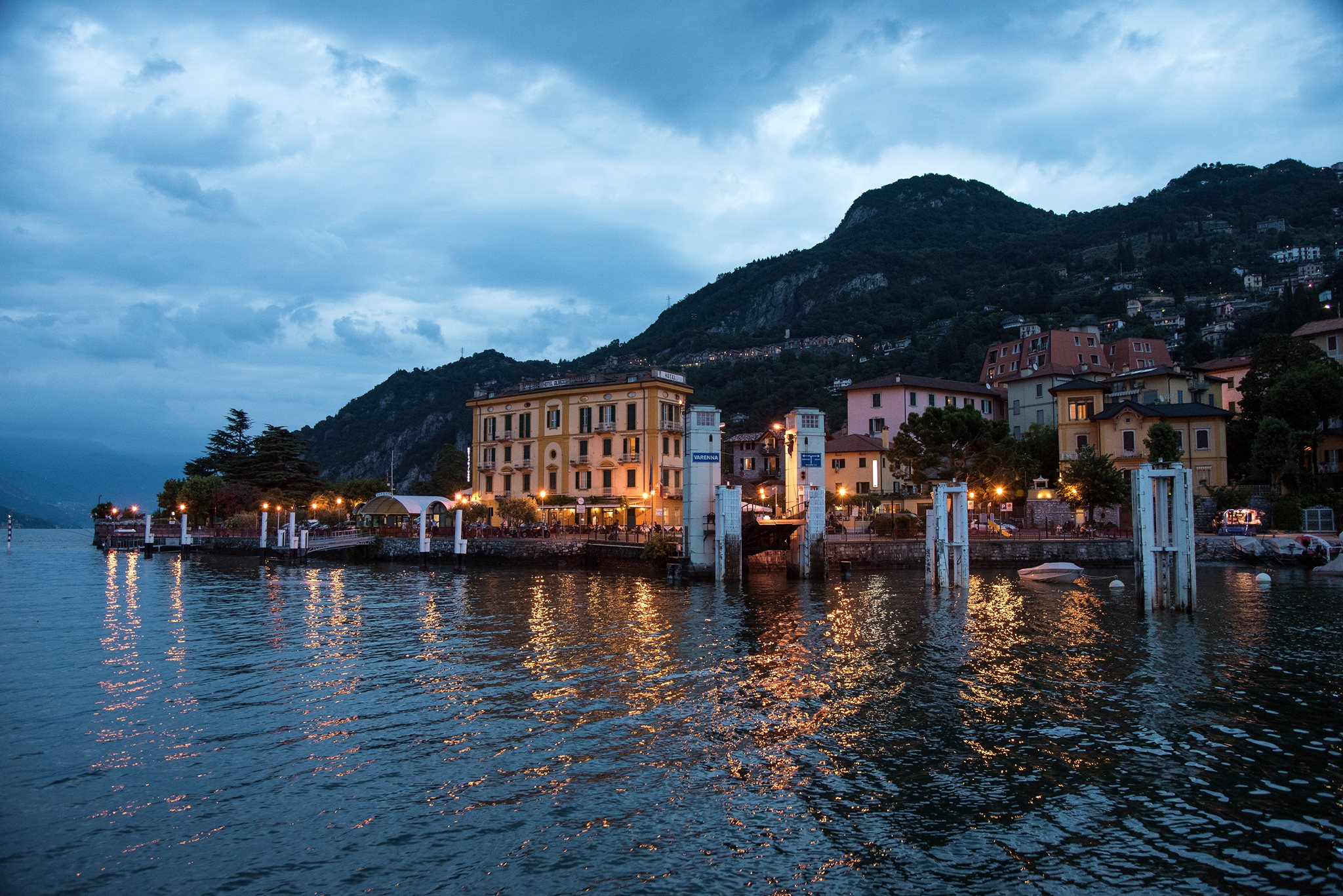 The Lake Como ceremonies are open to only the closest family members and maybe some friends