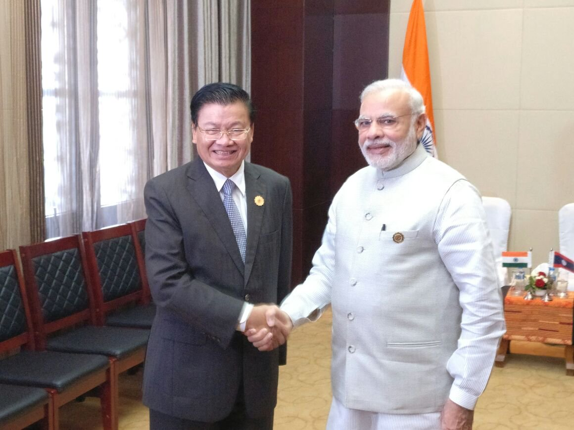Prime Minister Narendra Modi had attended ASEAN-India summit and East Asia Summit hosted by Lao PDR in 2016 (Photo courtesy: MEA
