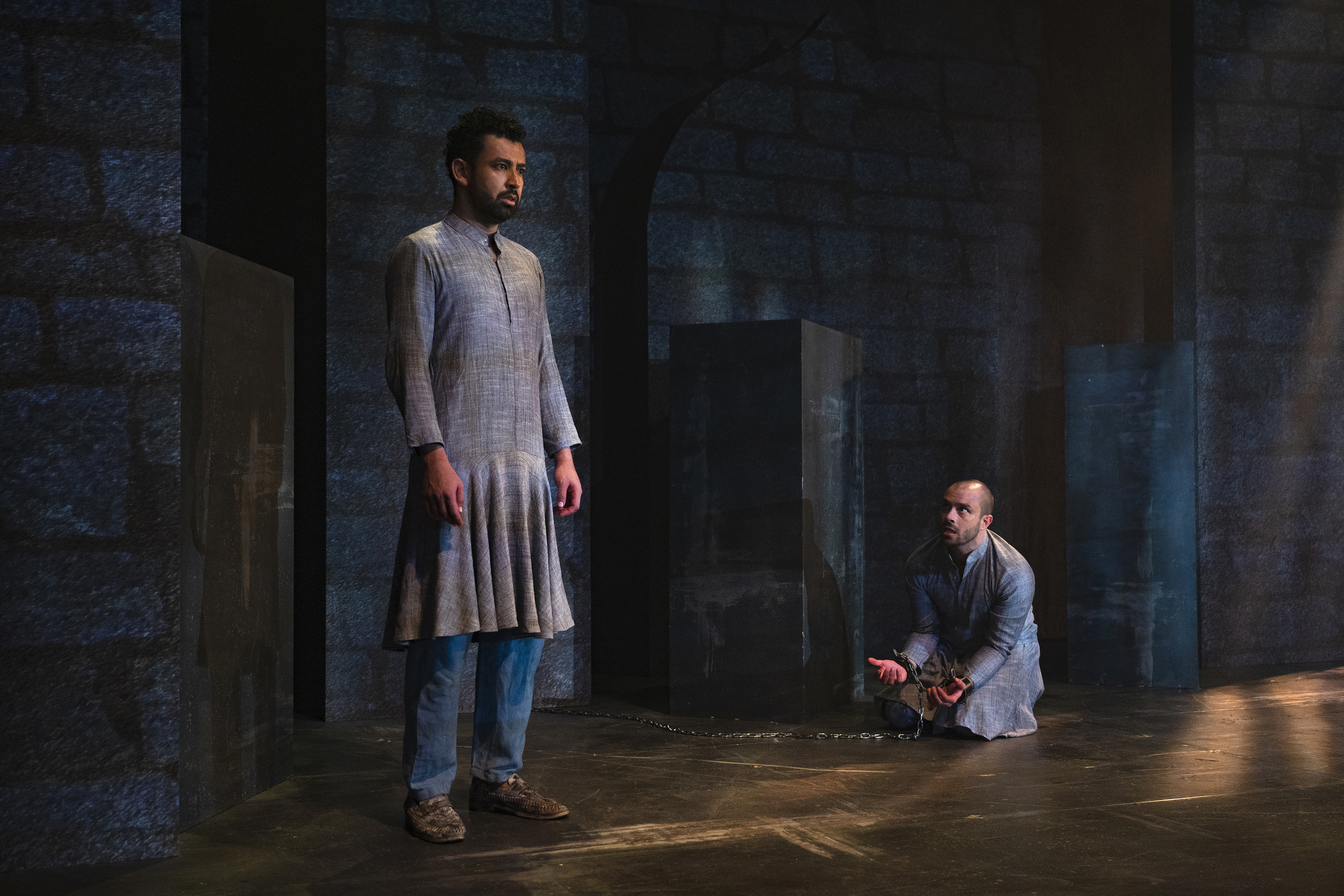 'Guards at the Taj' has been written by famous American playwright Rajiv Joseph. He is also a 2010 Pulitzer Prize finalist. Photo courtesy: Singapore Repertory Theatre