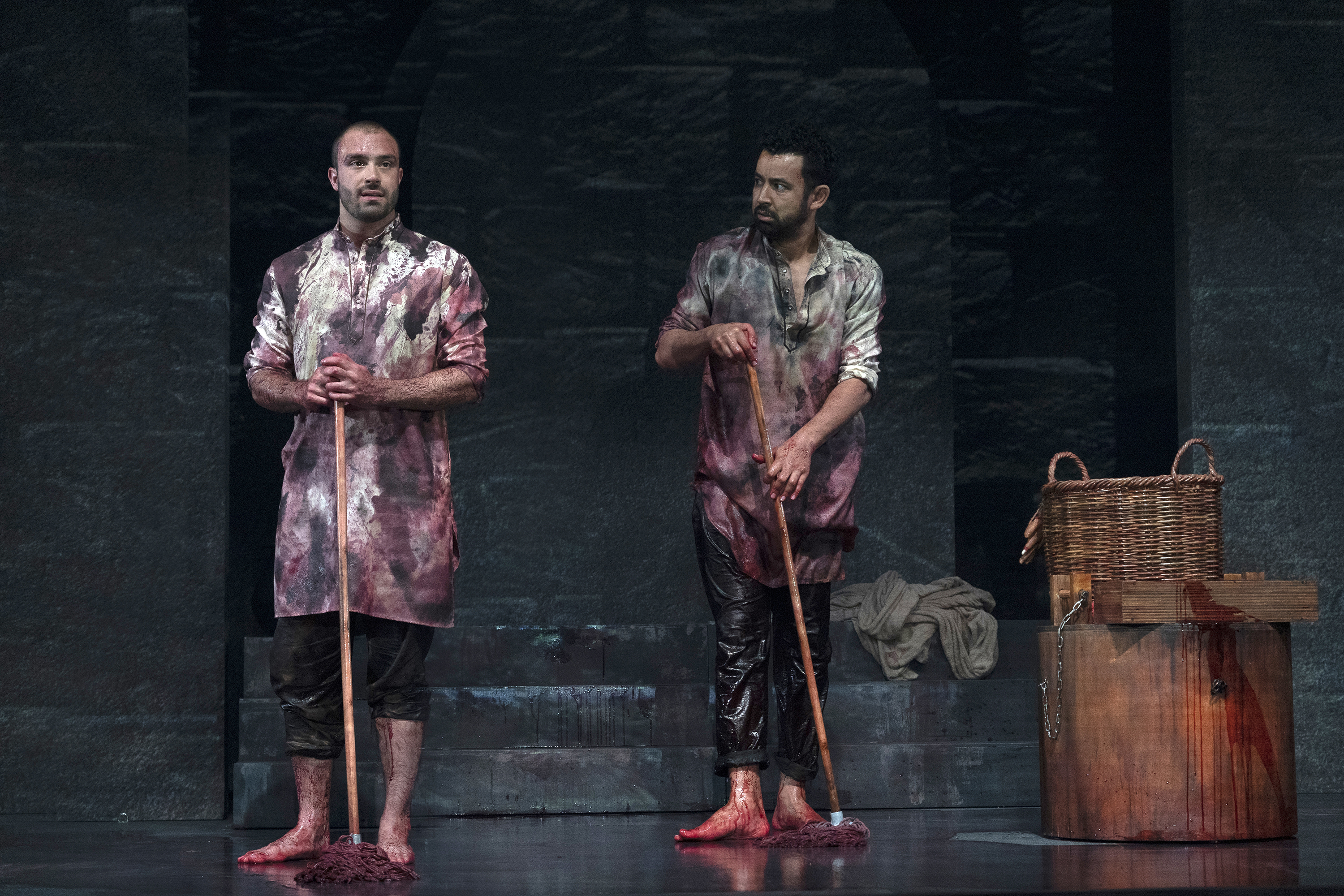 Jay Saighal is a British actor who has worked on the stage and screen while Ghafir is a Malaysian actor. Photo courtesy: Singapore Repertory Theatre
