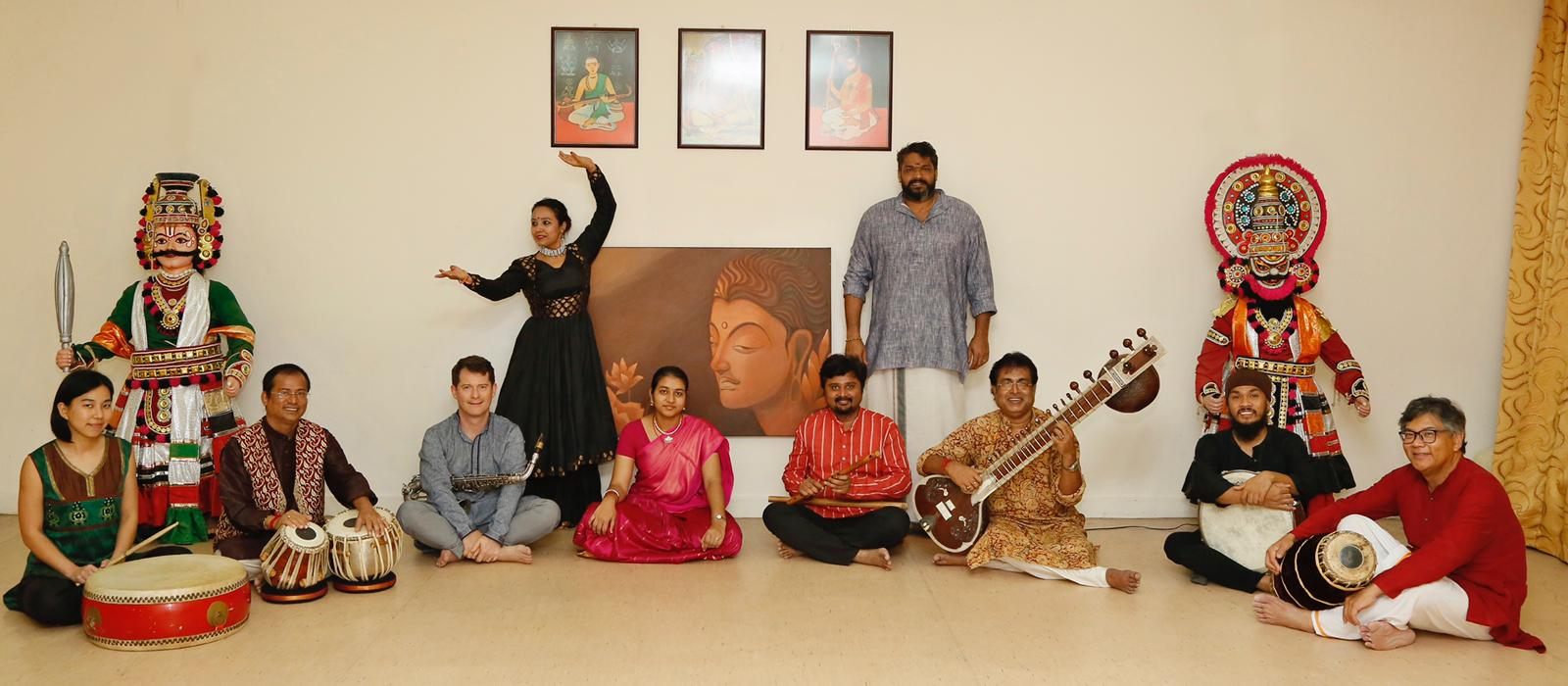 This year for the first time, Alangkar presented a concert, Laya Sangamam as the opening highlight.