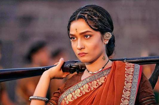 Ankita Lokhande as Jhalkari Bai. Photo courtesy: Instagram/lokhandeankita