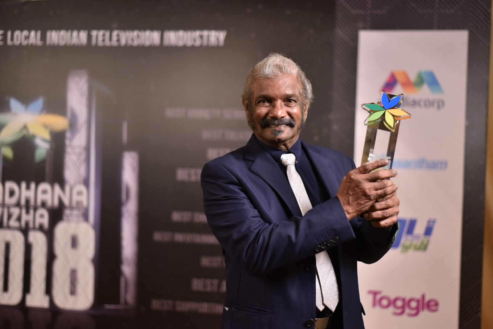Best Actor - Panneeirchelvam. Photo courtesy: Vasantham