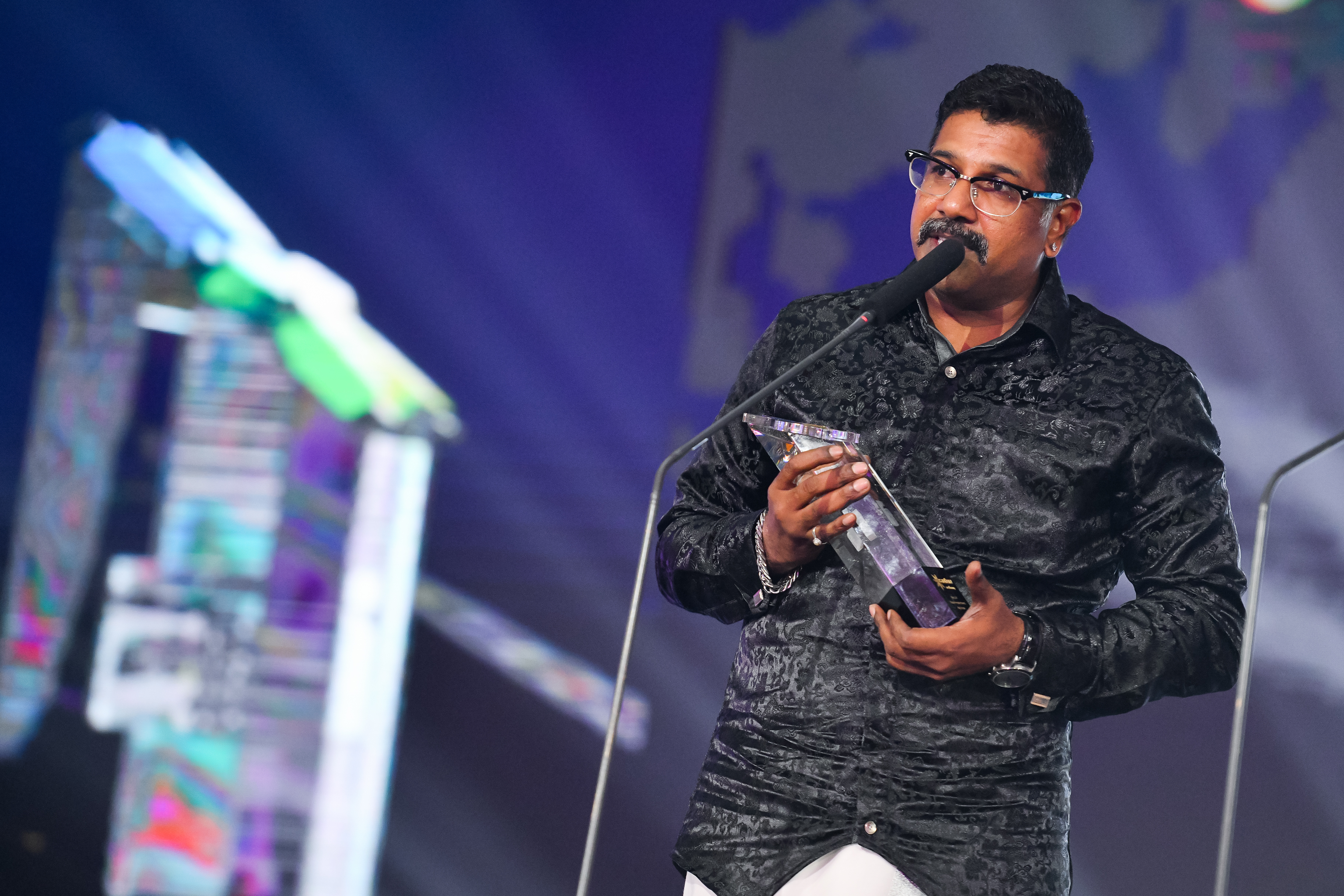 Best Supporting Actor - Puravalan. Photo courtesy: Vasantham