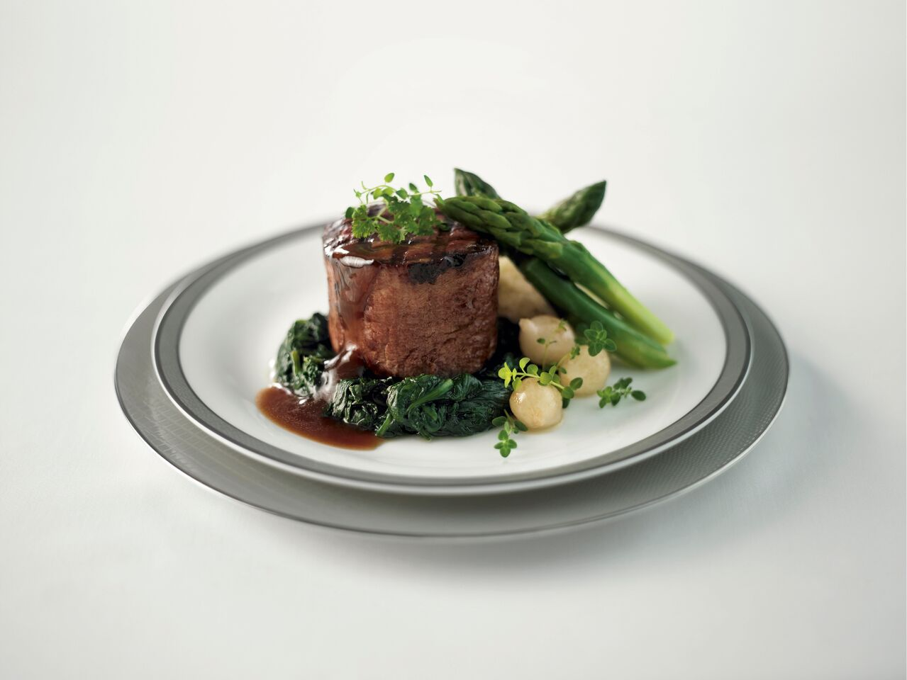 Beef Fillet, a dish available for pre-order through SIA's new meal pre-ordering service. Photo courtesy: SIA