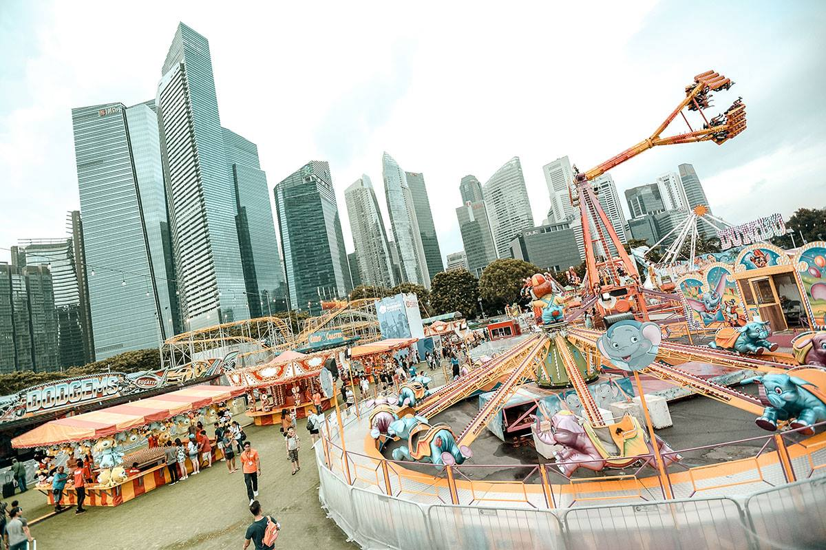 Photo courtesy: Prudential Marina Bay Carnival