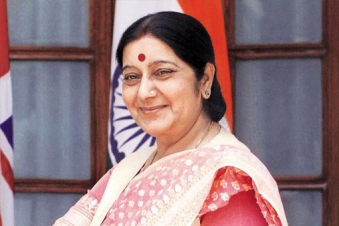 Minister of External Affairs Sushma Swaraj