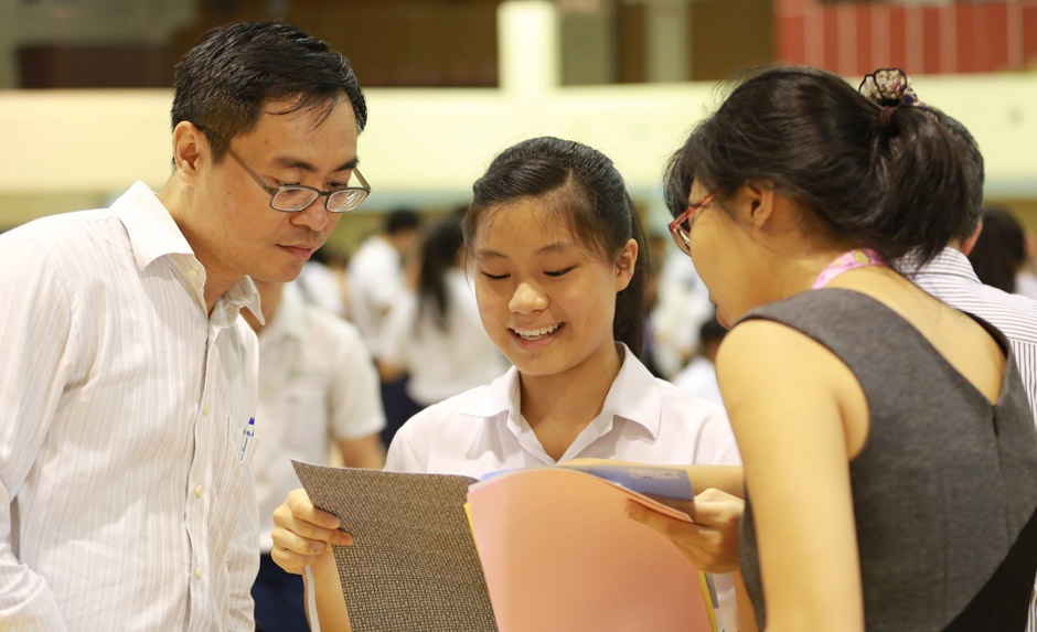 School candidates can obtain their O-Level results from their respective schools on January 14. Photo courtesy: Ministry of Education
