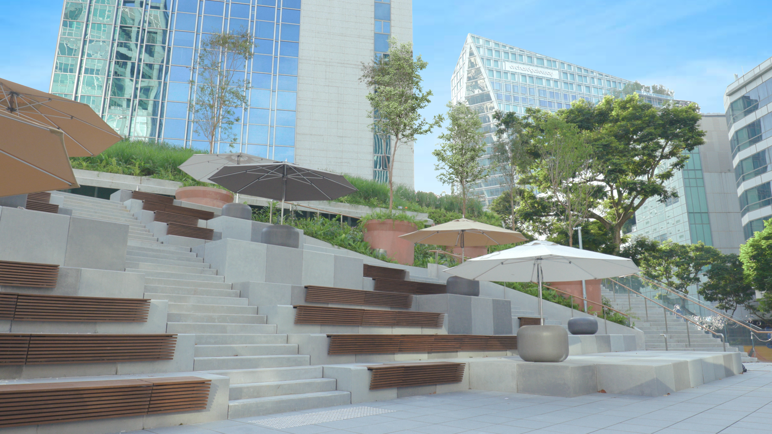 Design Orchard will be located at the junction of Orchard Road and Cairnhill Road. Photo courtesy: STB