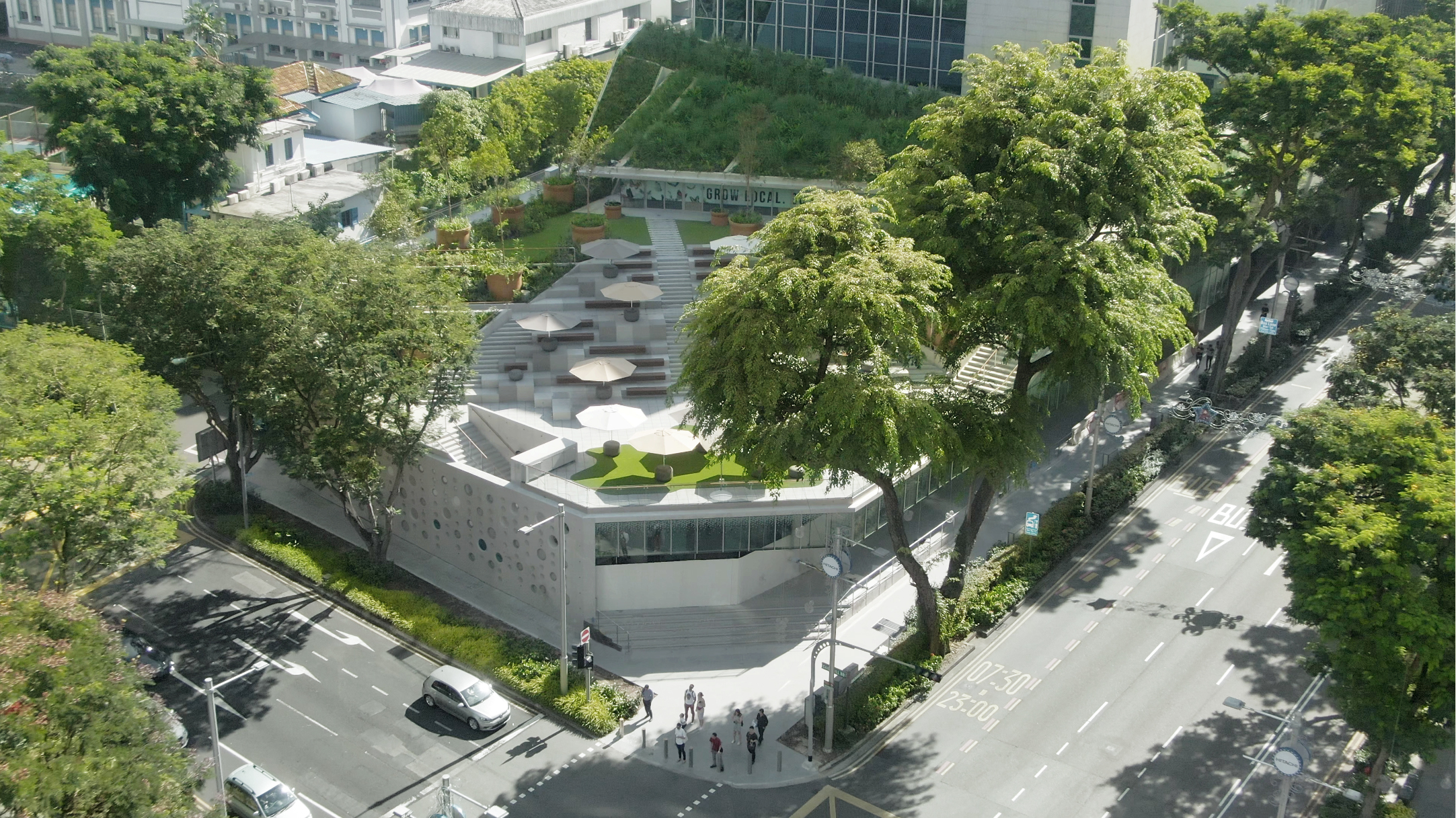The 2.5-storey Design Orchard will feature over 60 local brands. Photo courtesy: STB