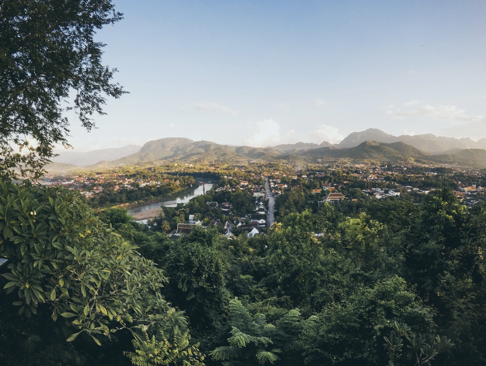 Luang Prabang, Laos, has breathtaking views. Photo courtesy: unsplash.com