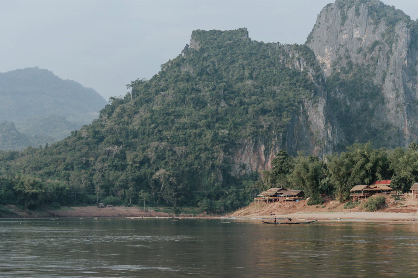 The Mekong is the world's twelfth longest river and the seventh longest in Asia. Photo courtesy: unsplash.com