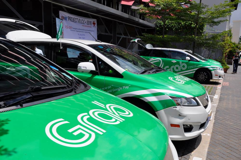 Grab has dominated the ride-hailing market of Singapore since it acquired Uber's Southeast Asian business in March last year. Photo courtesy: Grab