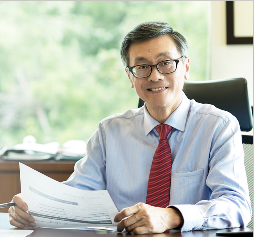 NUS President, Professor Tan Eng Chye. Photo courtesy: NUS