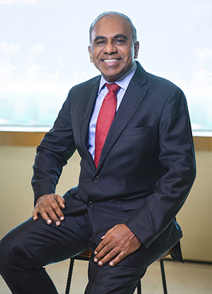 Professor Subra Suresh, NTU President. Photo courtesy: NTU