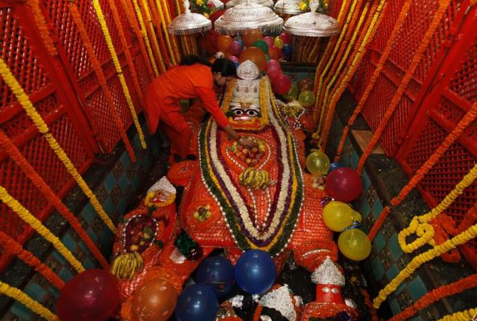 PBD delegates will be taken to Bade Hanuman temple located in the Kumbh Mela area. Photo courtesy: Wikimedia