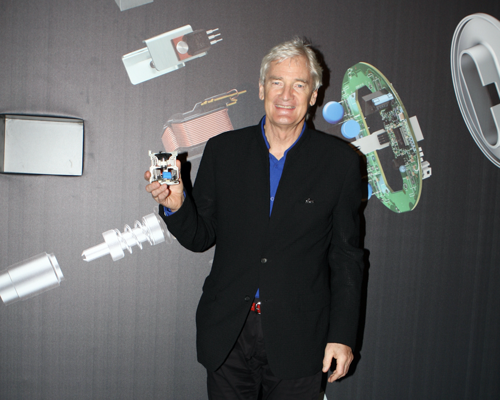James Dyson, founder of Dyson company. Photo courtesy: Wiki