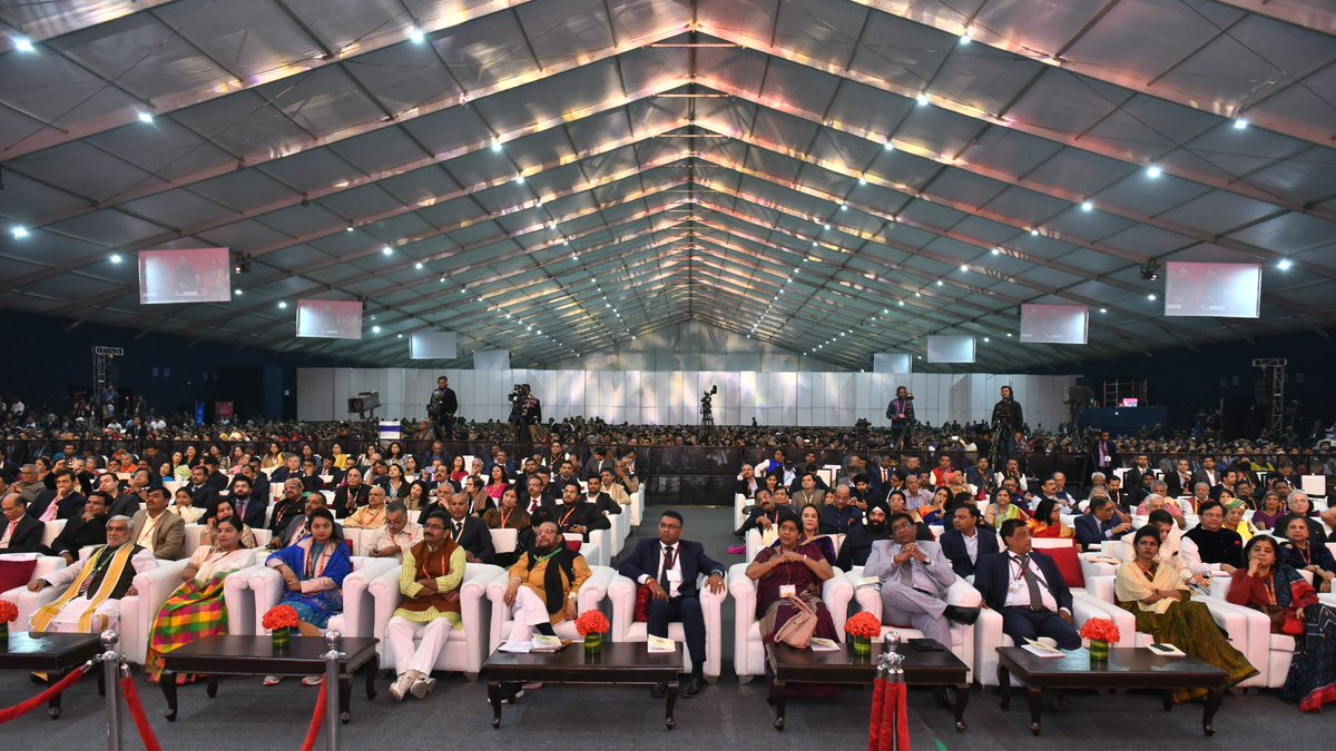 PBD Convention delegates listening to the President's Address. Photo courtesy: PBD Convention