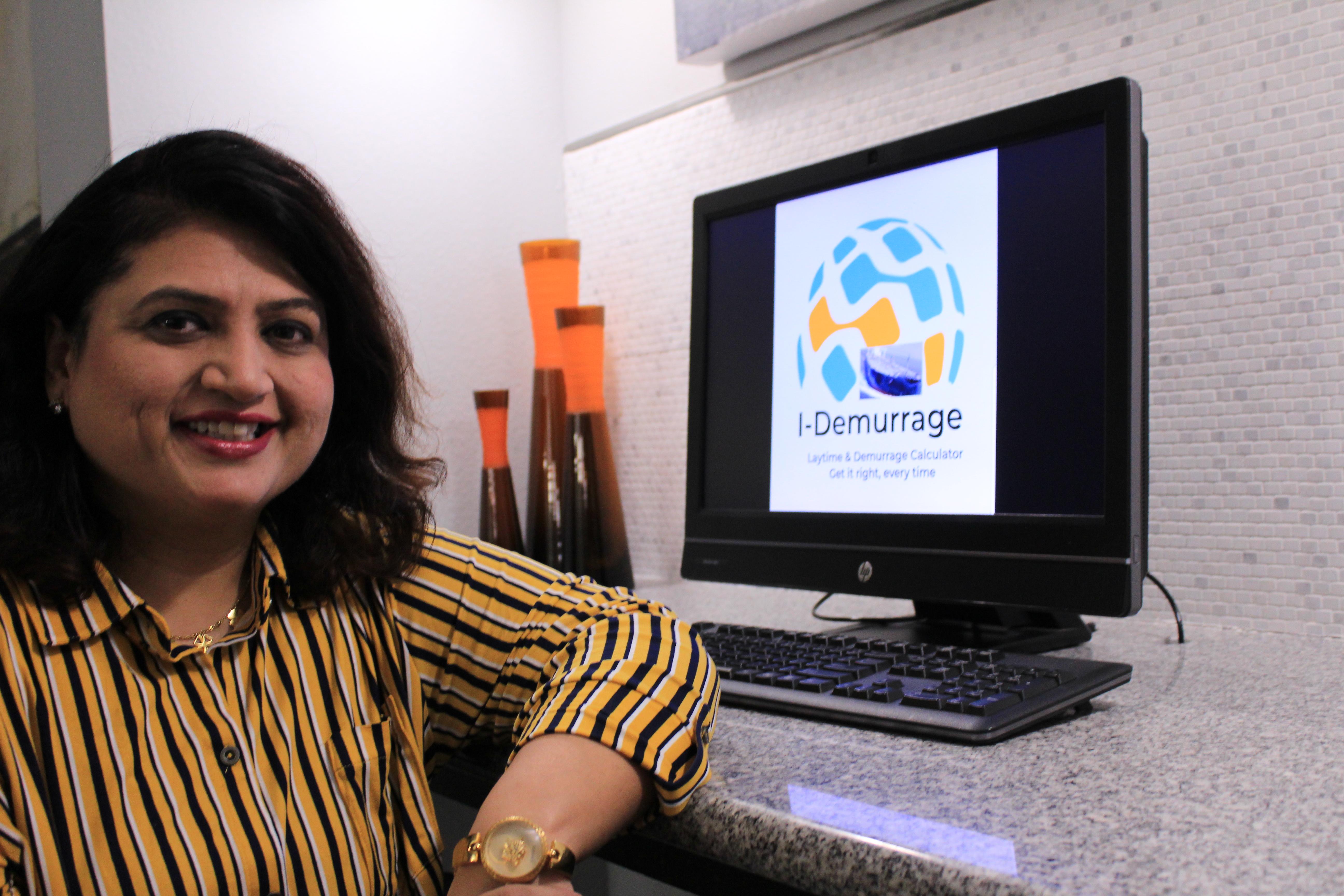 Leena Asher, the brain behind the I-Demurrage app, is a Specialist Demurrage Analyst