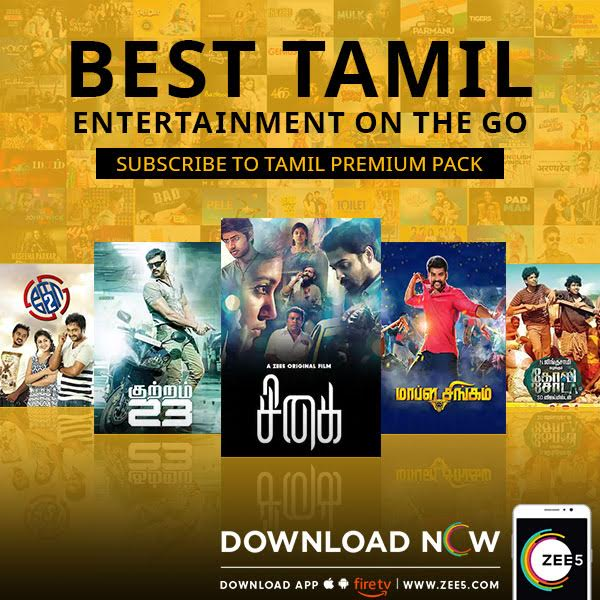 ZEE5 announces special Tamil subscription packs for Singapore and