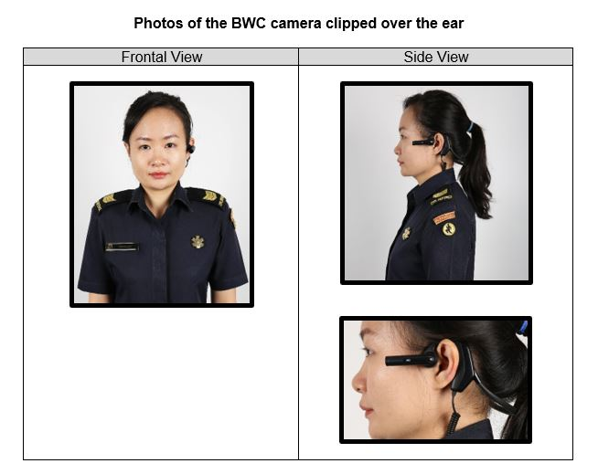 SCDF paramedics are being equipped with body-worn cameras to enhance emergency ambulance operations and improve patient outcomes. Photo courtesy: SCDF