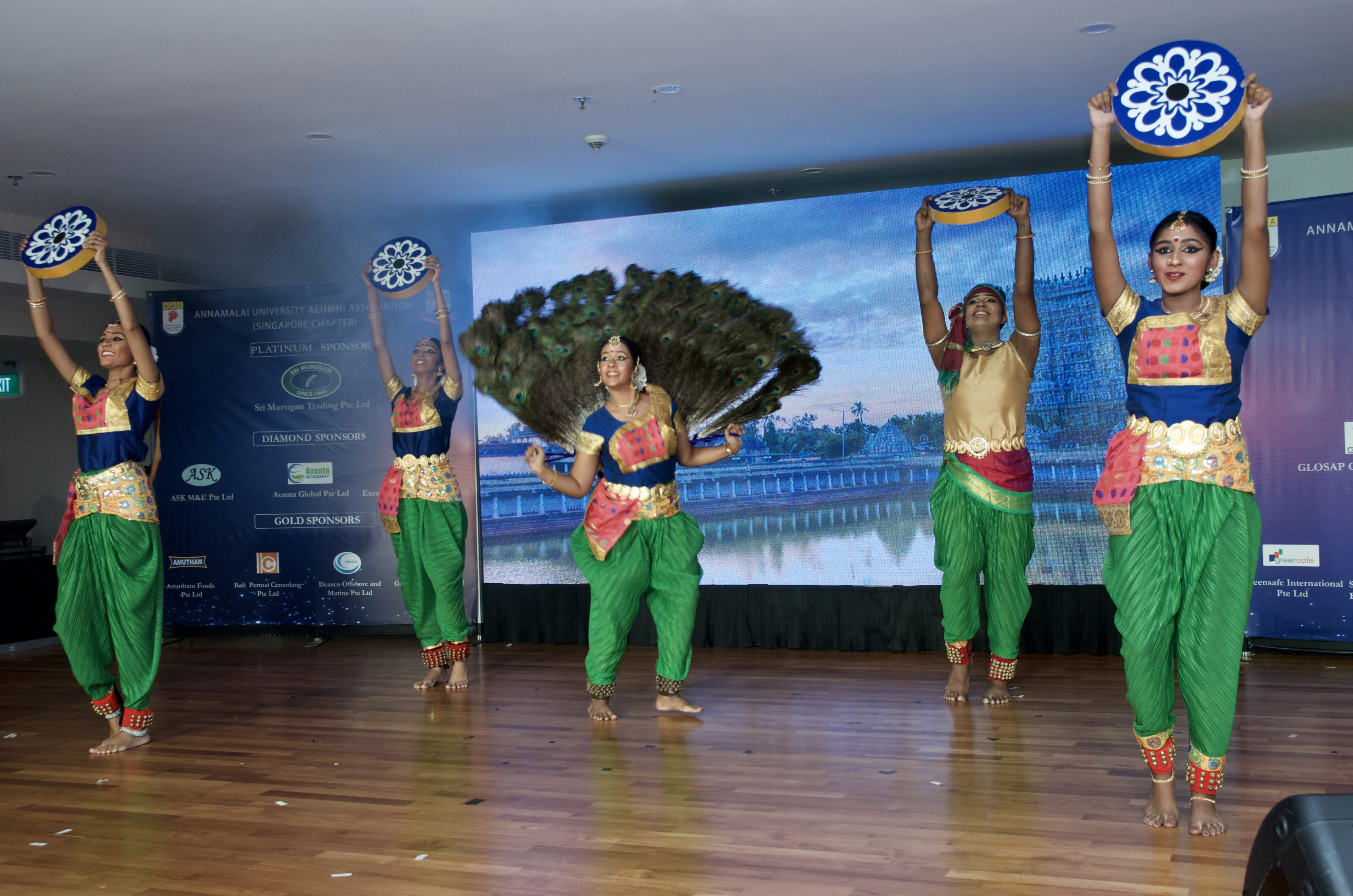 an enchanting dance ensemble showcasing the multi-cultural ethos of Singapore.