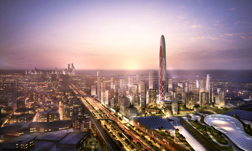 Burj Jumeira's design is inspired by the harmonious ripples of the UAE's desert sand dunes and its flowing oases. Photo courtesy: Dubai Holdings